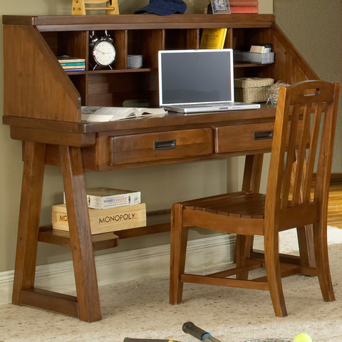 American Woodcrafters - Desk with Matching Chair - 1800-DESK/1800-343/1800-774