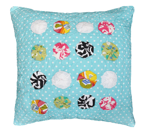 Image of Jane Abby Yo-Yo Pillow