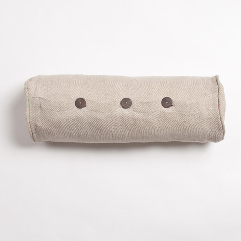 Image of Iven Bolster Pillow in Natural