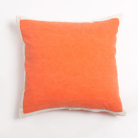 Image of Connor Pillow in Orange