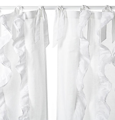Image of Tuxedo Linen and Cotton Curtain