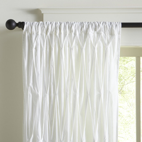 Image of Asher Cotton Voile Curtain