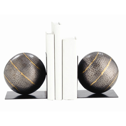 Arteriors Imports Trading Co. - Pair of Gauge Bookends - 2695