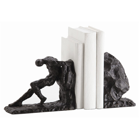 Arteriors Imports Trading Co. - Set of Jacque Bookends - 3127