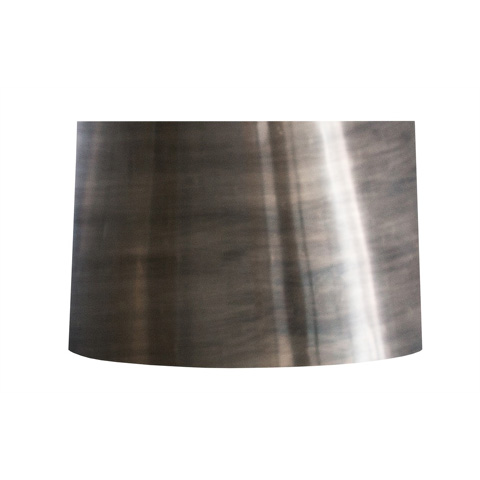Arteriors Imports Trading Co. - Oxidized Silver Flat Drum - 312S