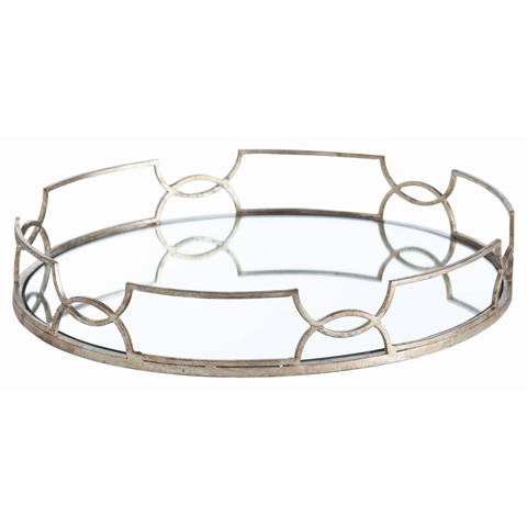 Arteriors Imports Trading Co. - Cinchwaist Oval Tray - 3137
