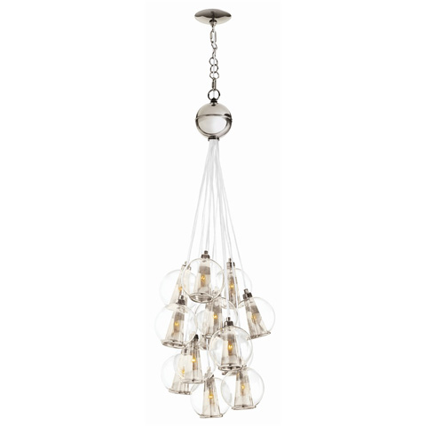 Arteriors Imports Trading Co. - Caviar Adjustable Small Cluster Pendant - DK89913