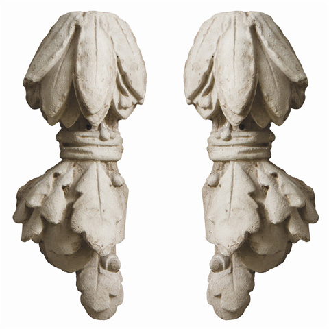 Arteriors Imports Trading Co. - Set of Vienne Sculptures/Wall Plaques - DR5002