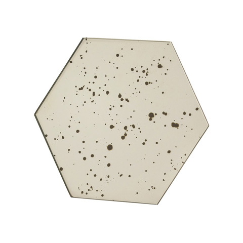 Arteriors Imports Trading Co. - Olivia Hexagon Mirrored Stand - 6107