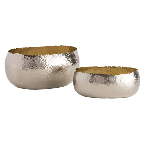 Arteriors Imports Trading Co. - Alessandria Oval Containers-Set of 2 - 6147