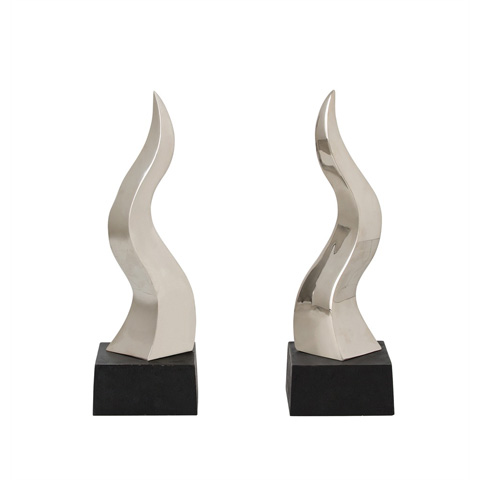 Arteriors Imports Trading Co. - Luca Andirons-Set of 2 - 6335