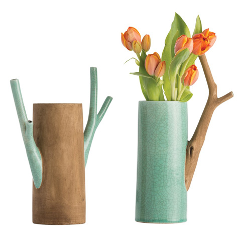 Arteriors Imports Trading Co. - Mandara Vases-Set of 2 - 7702