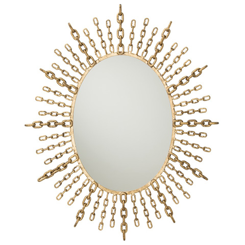 Arteriors Imports Trading Co. - Chain Oval Mirror - DD2065