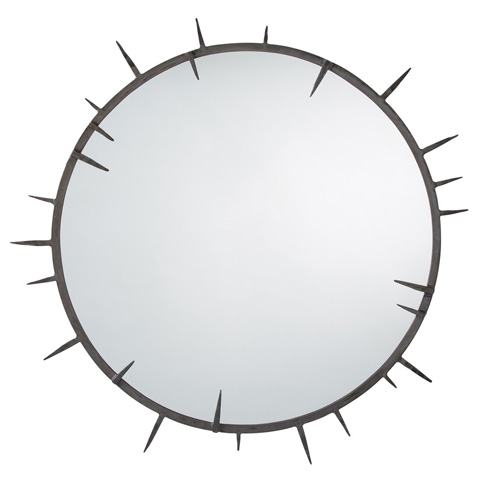 Arteriors Imports Trading Co. - Spiked Round Mirror - DD2601
