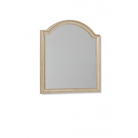 Image of Gently Curved Vertical Dresser Mirror