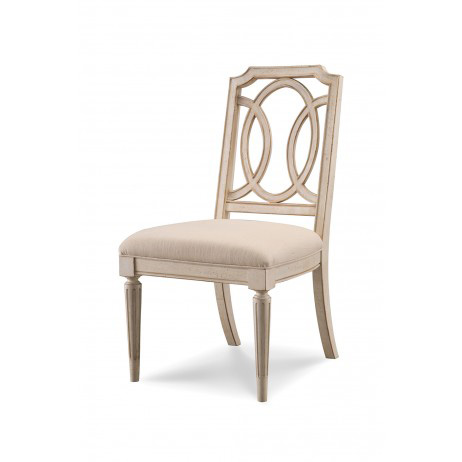 A.R.T. Furniture - Fretwork Dining Side Chair with Upholstered Seat - 176204-2617