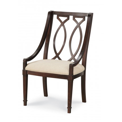 A.R.T. Furniture - Wood Back Upholstered Arm Chair - 161205-2636