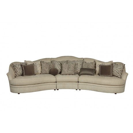 Image of Amanda Ivory Sectional