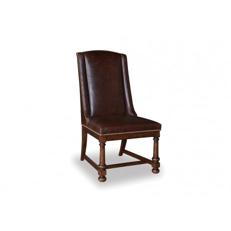 A.R.T. Furniture - Whiskey Oak Leather Side Chair - 205201-2304