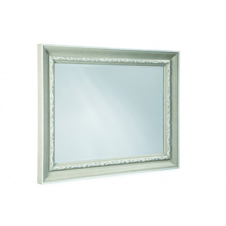 Image of Chateaux Grey Landscape Mirror