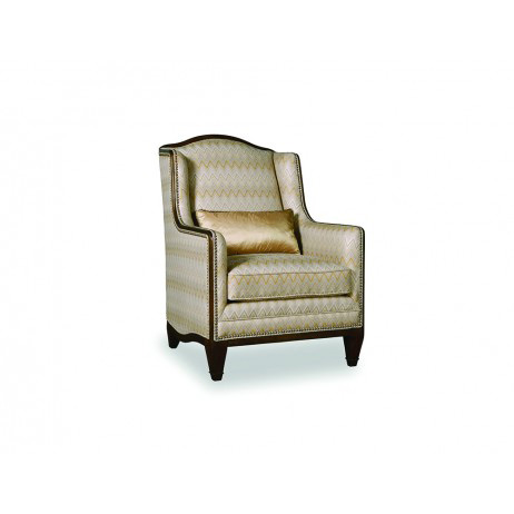 Image of Ava Creme Highback Arm Chair