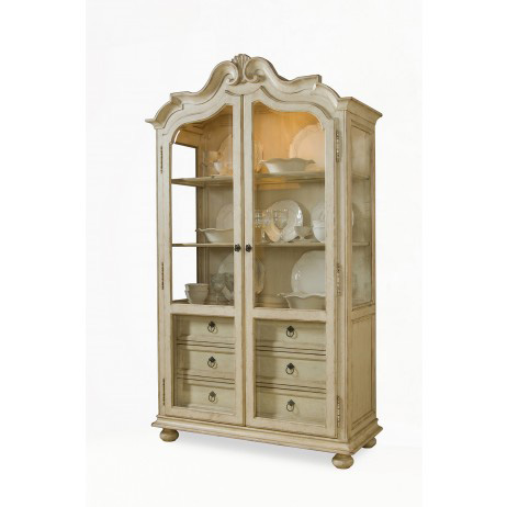 Image of Display Cabinet in Linen