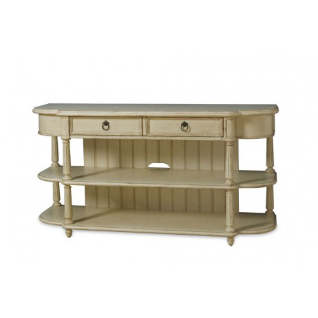 A.R.T. Furniture - Entertainment Console Table in Linen - 176423-2617