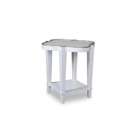 A.R.T. Furniture - Shaped End Table in Parchment - 208303-1817