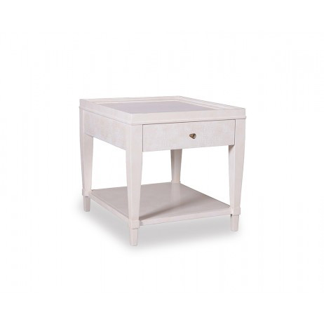 Image of End Table in Parchment