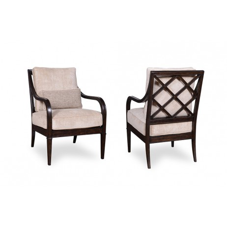A.R.T. Furniture - Fawn X Back Accent Chair - 502514-5015AA
