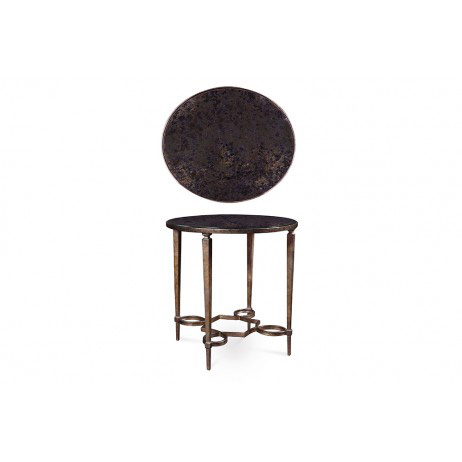Image of Round Metal Table