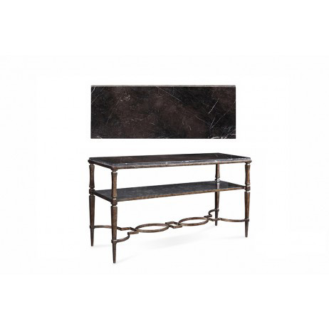 Image of Metal Sofa Table
