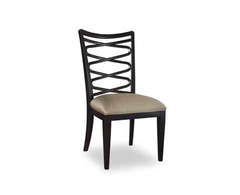 Image of Ribbon Back Side Chair in Ebony