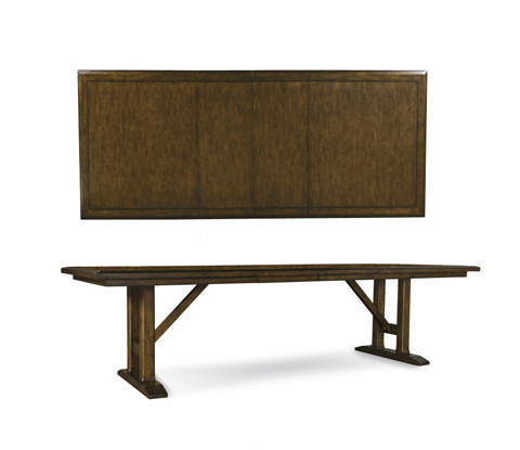 A.R.T. Furniture - Trestle Dining Table - 212221-2016BS/212221-2016-TP