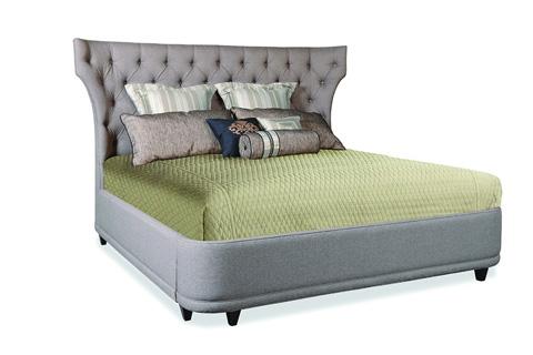A.R.T. Furniture - King Upholstered Platform Bed - 202136-1715