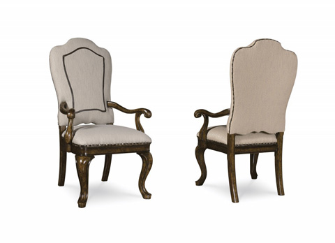 Image of Upholstered Back Arm Chair