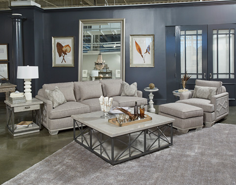 Image of Arch Salvage Three Piece Living Room Collection