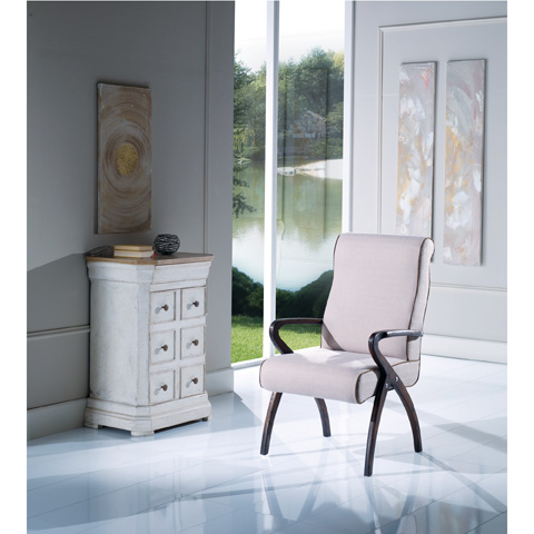 Image of Upholstered Arm Chair