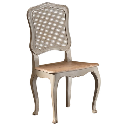 Image of Side Chair with Wood Seat