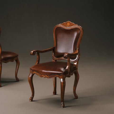 Artitalia Group - Arm Chair With Leather - VA15/P