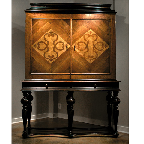 Image of Cabinet with Bar