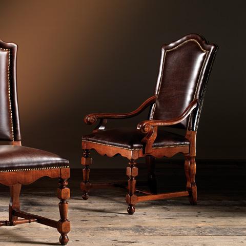 Artitalia Group - Arm Chair With Leather - VA31/P