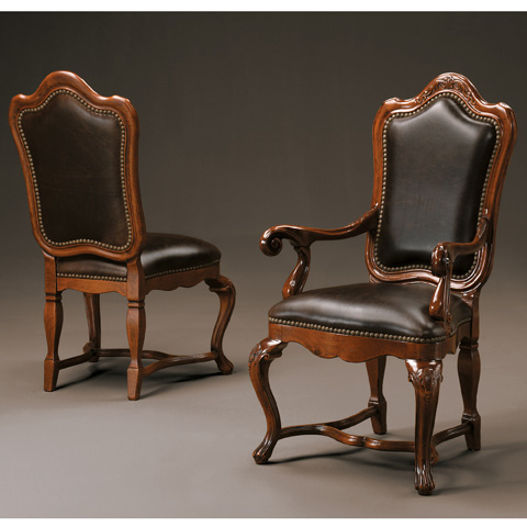 Image of Arm Chair With Leather