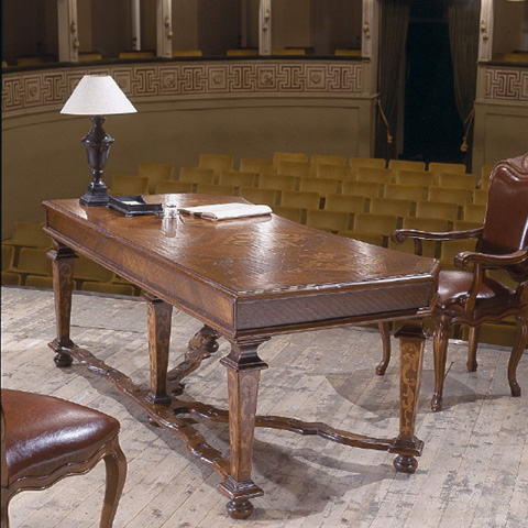 Image of Desk With Top Letter Hutch