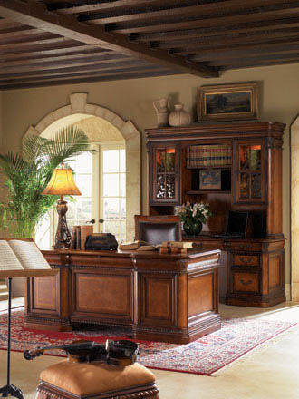 Aspenhome - Executive Desk - I74-300B_T_DESK