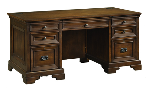 Image of Centennial Oak Executive Desk