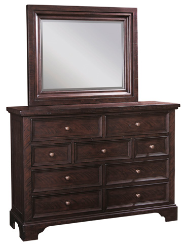Image of Nine Drawer Dressing Chest