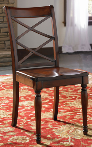 Aspenhome - Double X Wooden Side Chair - ICB-6670S-BCH