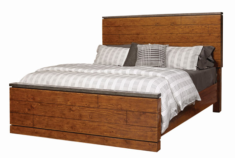 Image of Rockland Queen Panel Bed