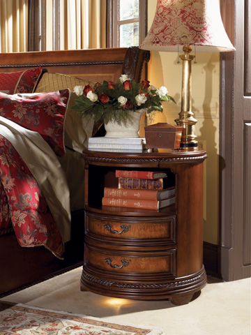 Image of Round Nightstand